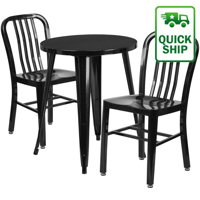 Stylish tables and chairs