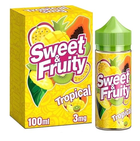 Tropical by Sweet & Fruity 100ml