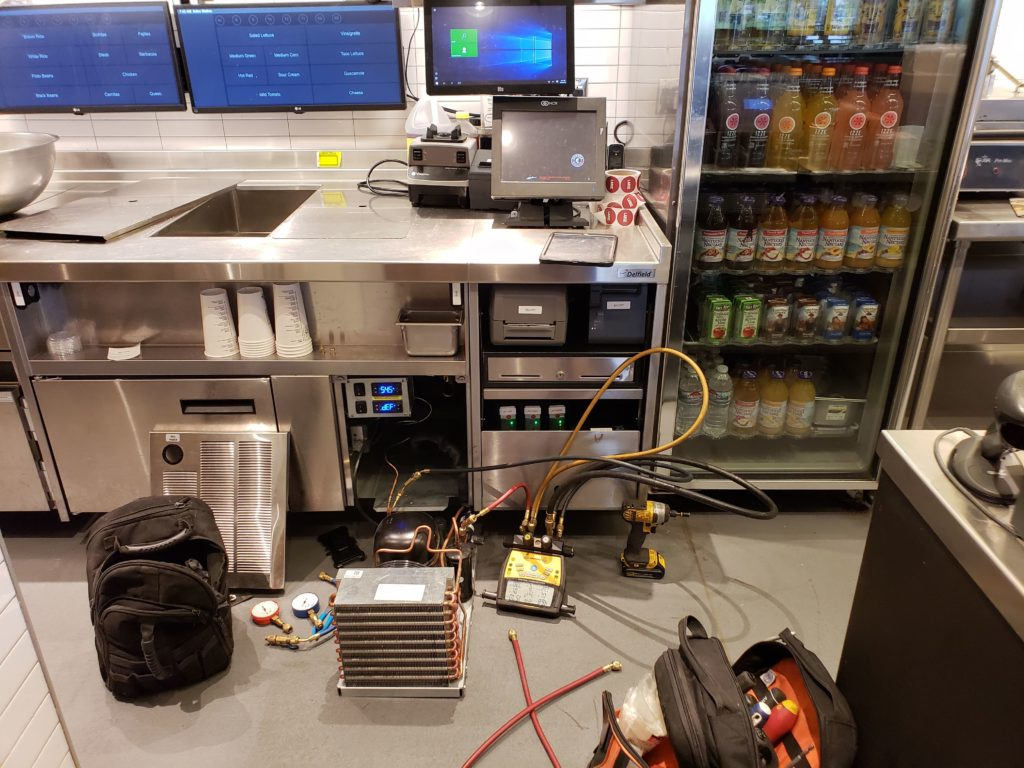 Café Equipment Maintenance