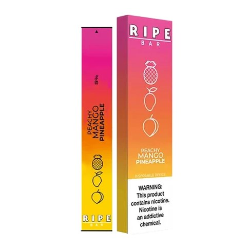 Peachy Mango Pineapple Disposable Pod by Ripe Bar