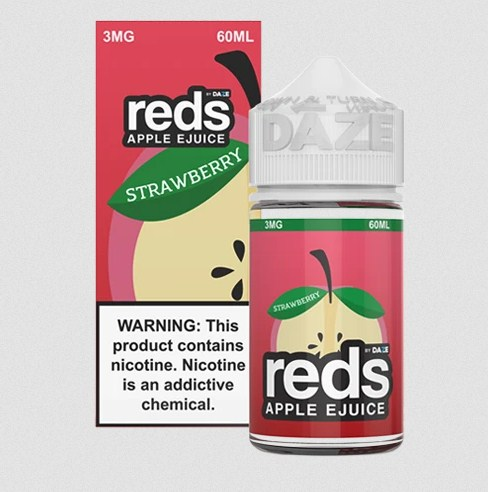 Strawberry Apple by Reds Apple Ejuice 60ml