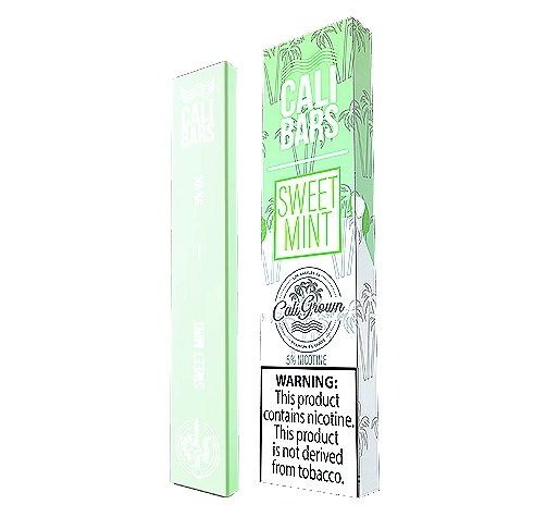 Sweet Mint Disposable Pod by Cali Bars
