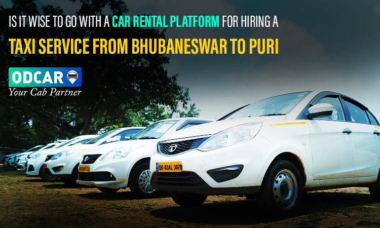 Taxi service from Bhubaneswar to Puri