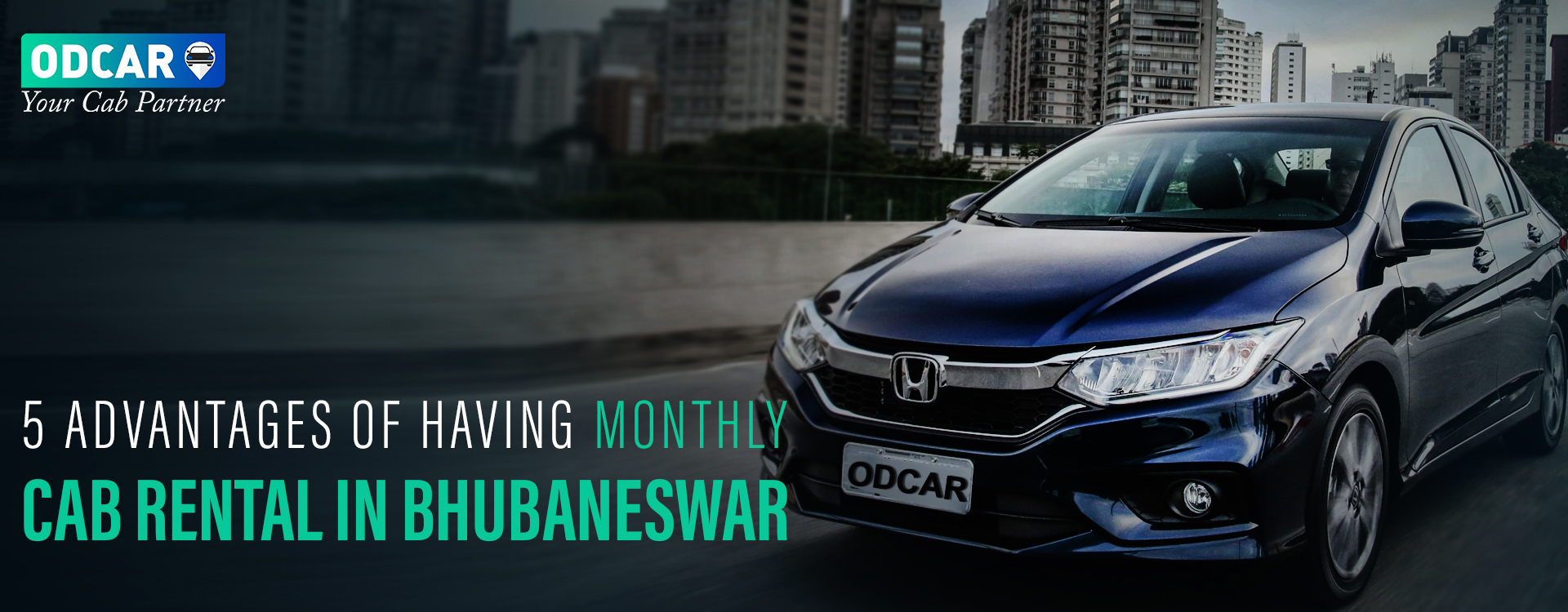 Monthly Cab Rental in Bhubaneswar